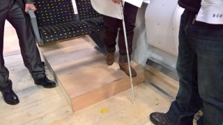 Accessible trains for people with sensory impairments
