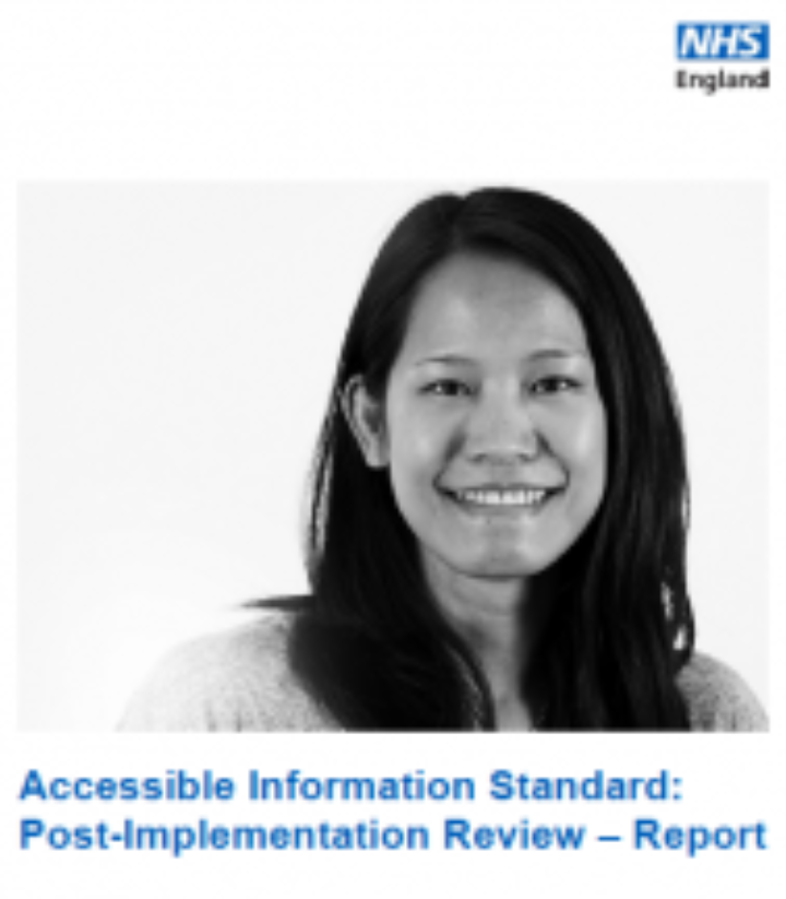Accessible Information Standards Review