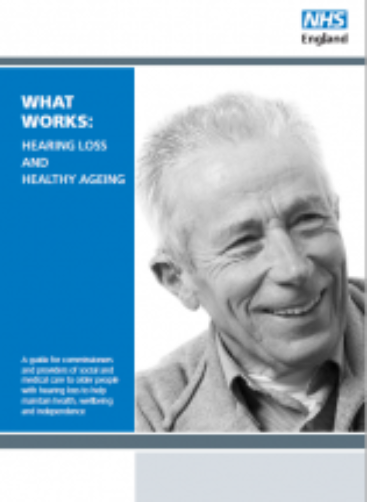 Hearing Loss and Healthy Ageing