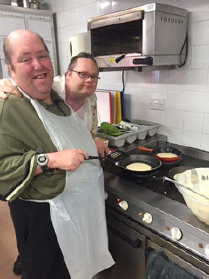Austrian Pancake Making