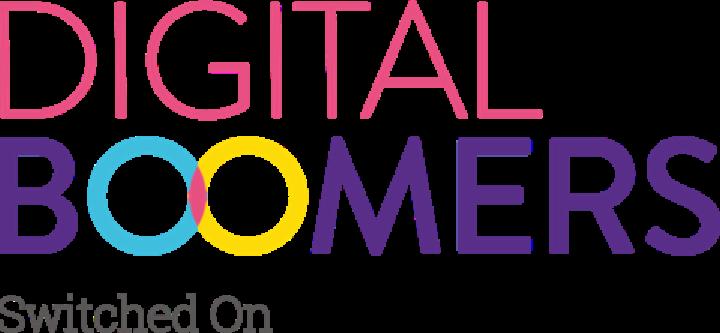 Digital Boomer logo.