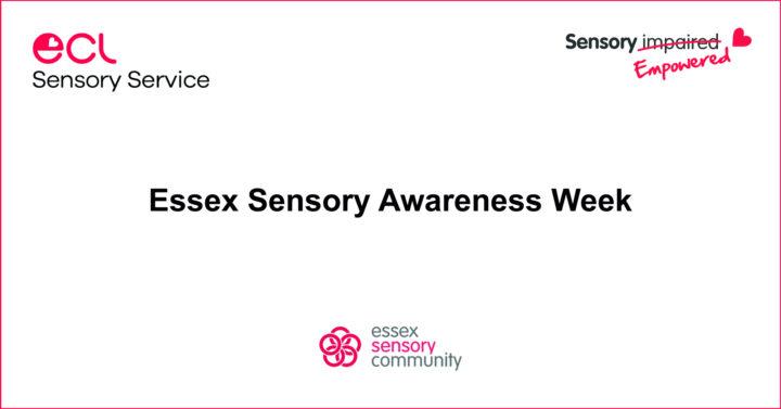 Essex Sensory Awareness Week header image