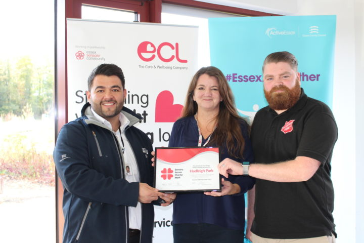 Hadleigh Park and Farm has won the ECL Sensory Award in Essex