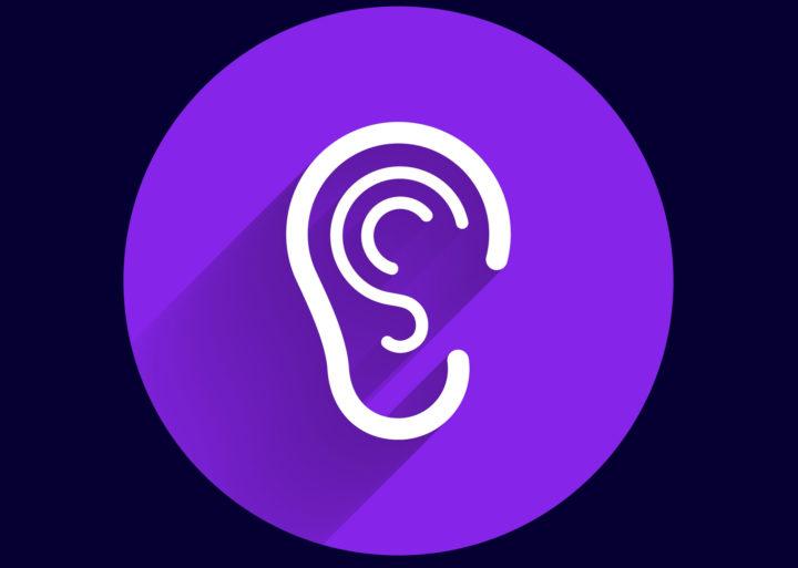 Sensory Impairment- Ear symbol