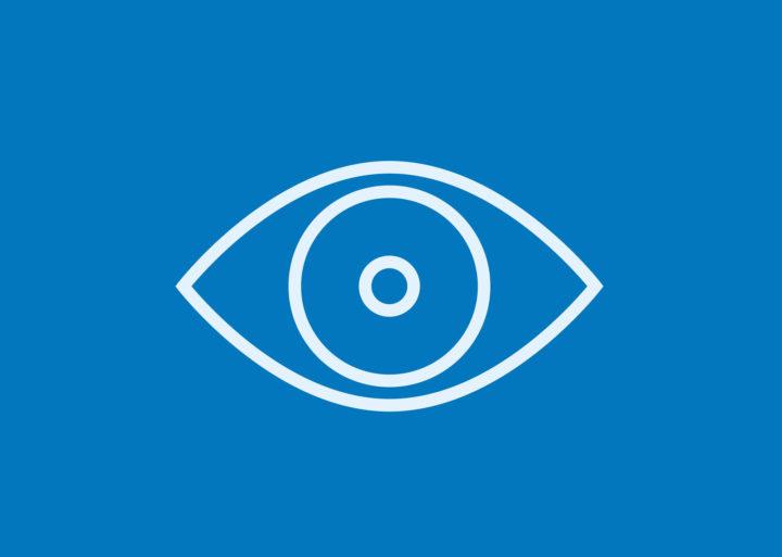 Sensory Impairment- Eye Symbol