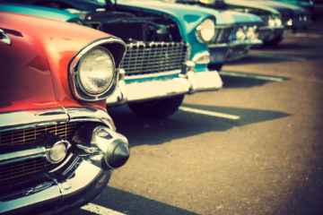 ECL Roundwood Classic Car Show