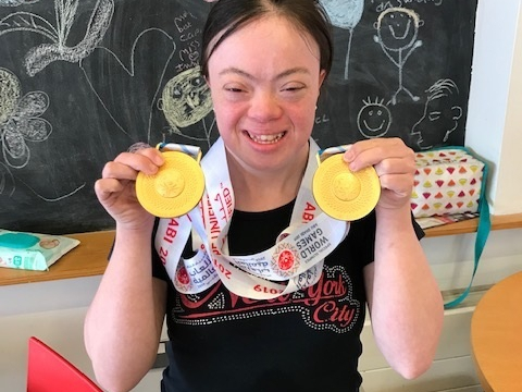 ECL customer Rosa wins double gold at Special Olympics